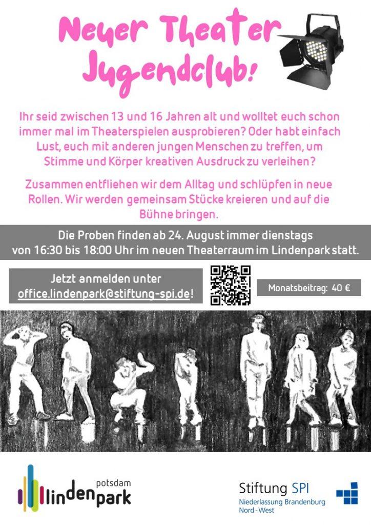 Jugendtheater Kurs von Lindenpark Potsdam