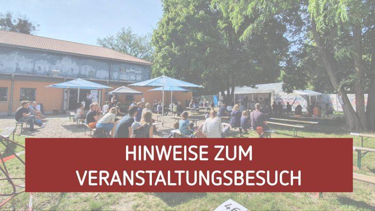 Hinweise Veranstaltungsbesuch im Lindenpark Potsdam