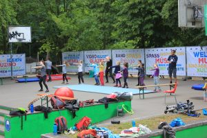 Tanzworkshop beim Zirkus-Camp