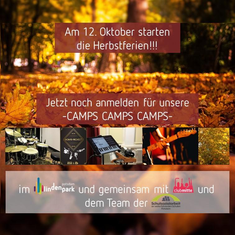 Herbstferien-Camps im Lindenpark