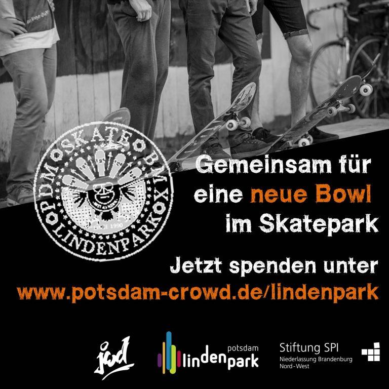 Crowdfunding Skatepark Lindenpark