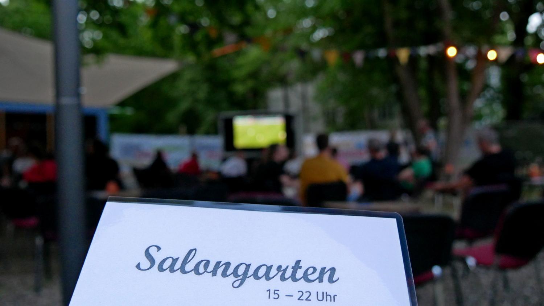 Public Viewing im Salongarten im Lindenpark Potsdam