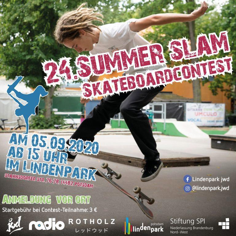 Summer Slam Skateboard im Lindenpark